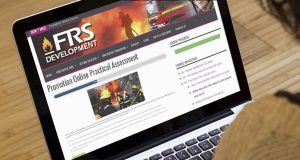 Promotion Online Practical Assessment on screen
