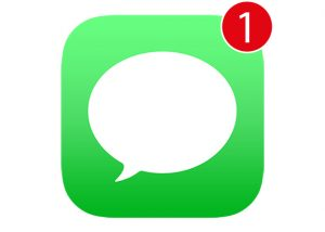 text message alert icon