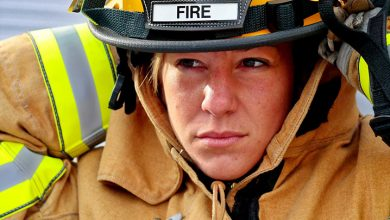 Photo of Being a female firefighter